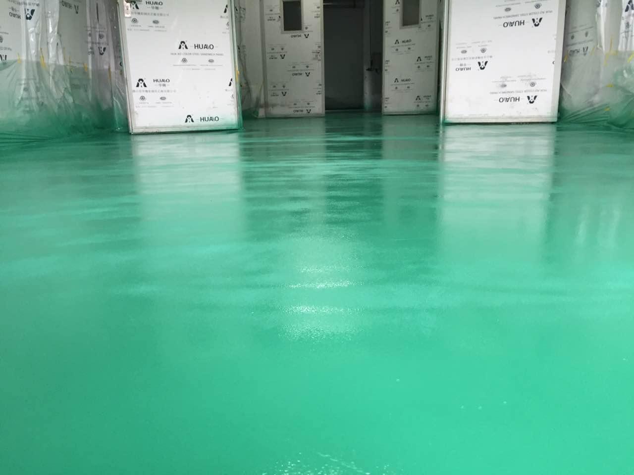 湖北能特公司地坪项目