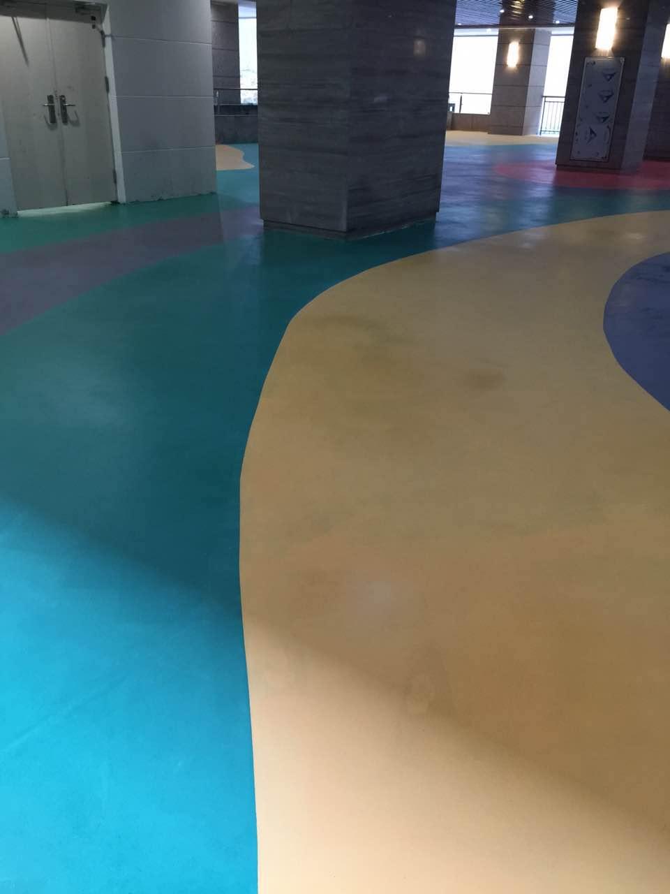使用哥拜耳无机地坪涂料的贵州医院