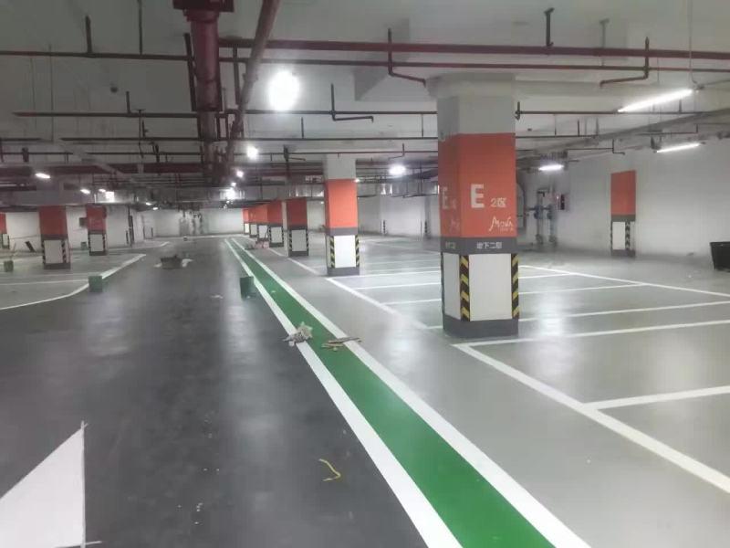 海航集团日月广场地下车库应用哥拜耳无机矿物地坪涂料