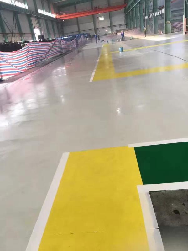 日企锻造厂使用哥拜耳水性无机矿物地坪涂料