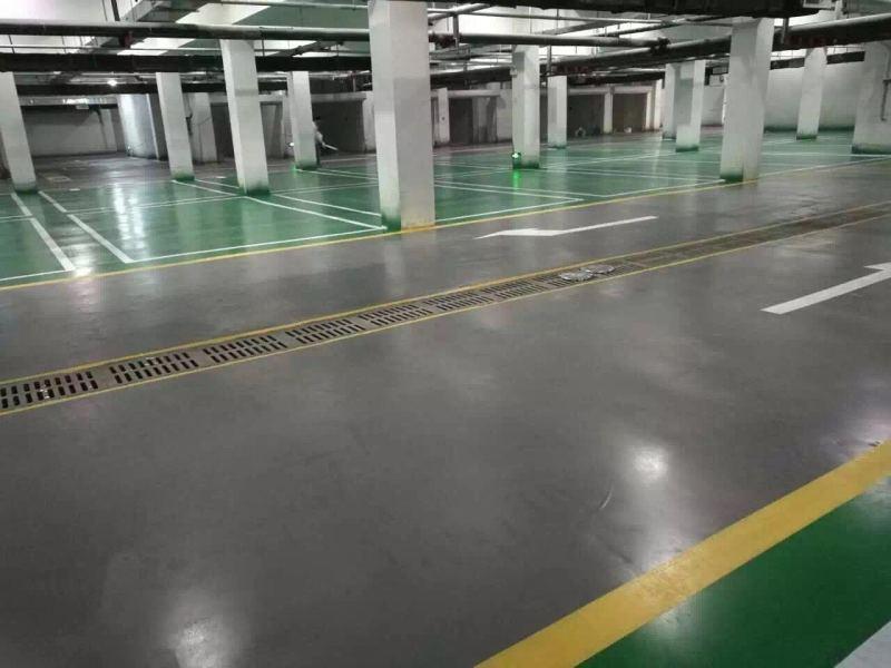 中铁鑫院使用哥拜耳水性无机矿物地坪涂料